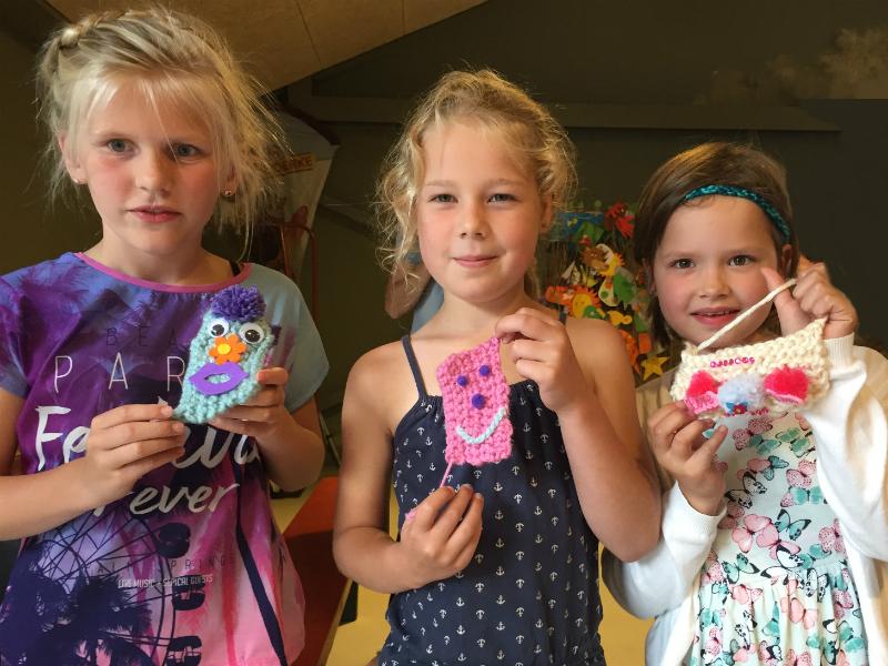 Kinderen Leren Breien En Haken Met Gratis Patronen